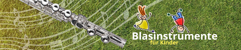 Blasinstrumente für Kinder