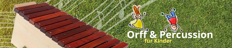Orff und Percussion für Kinder