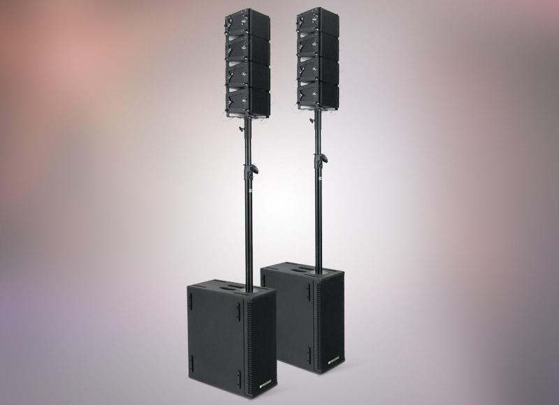 Pronomic V-Array Compact-Twin Set