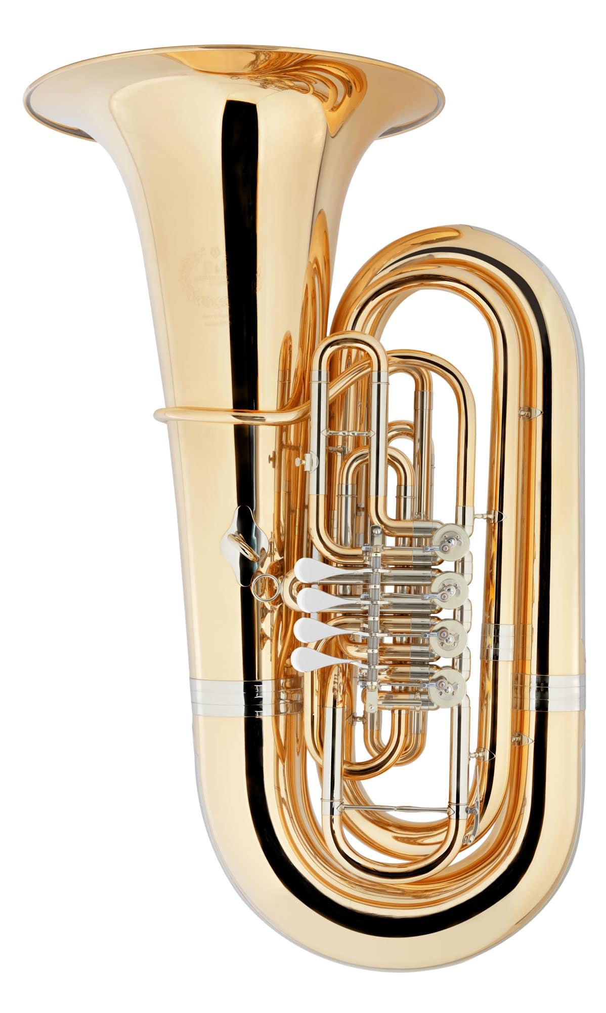 new product a5a02 802c9 B&S GR55 5/4 Bb Tuba Goldmessing klarlackiert