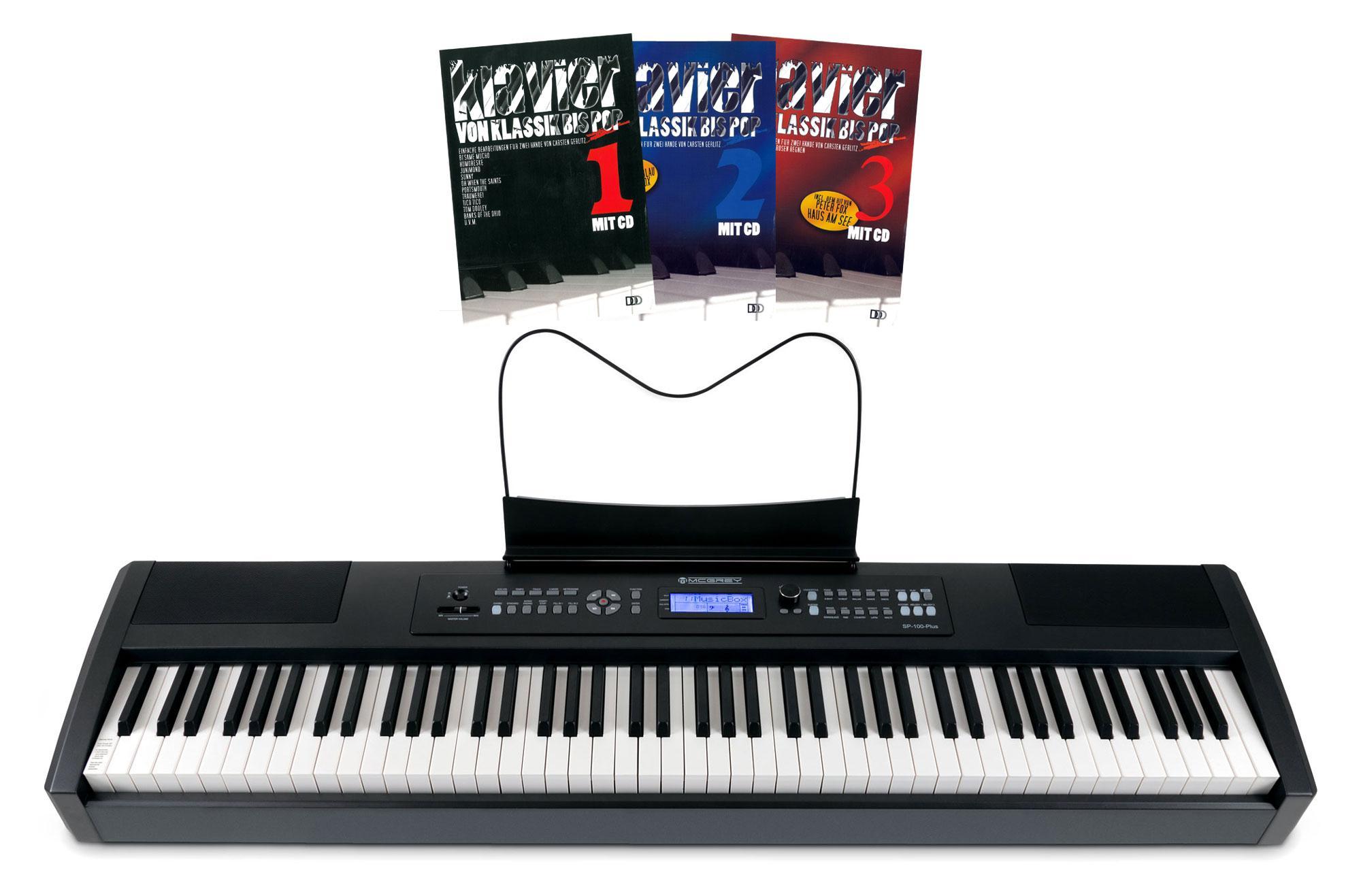 McGrey SP-100 Plus Stage Piano Music Set