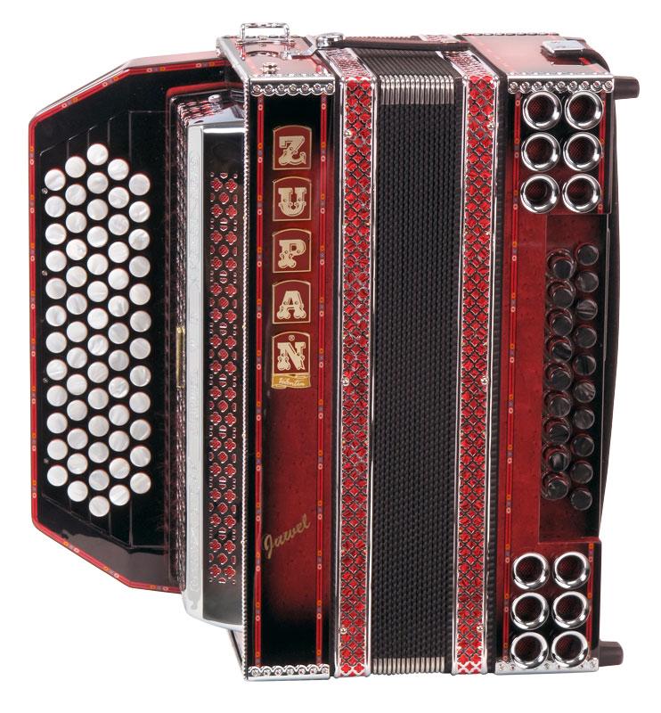Zupan Juwel Vd Harmonika D G C F B Shadow Red