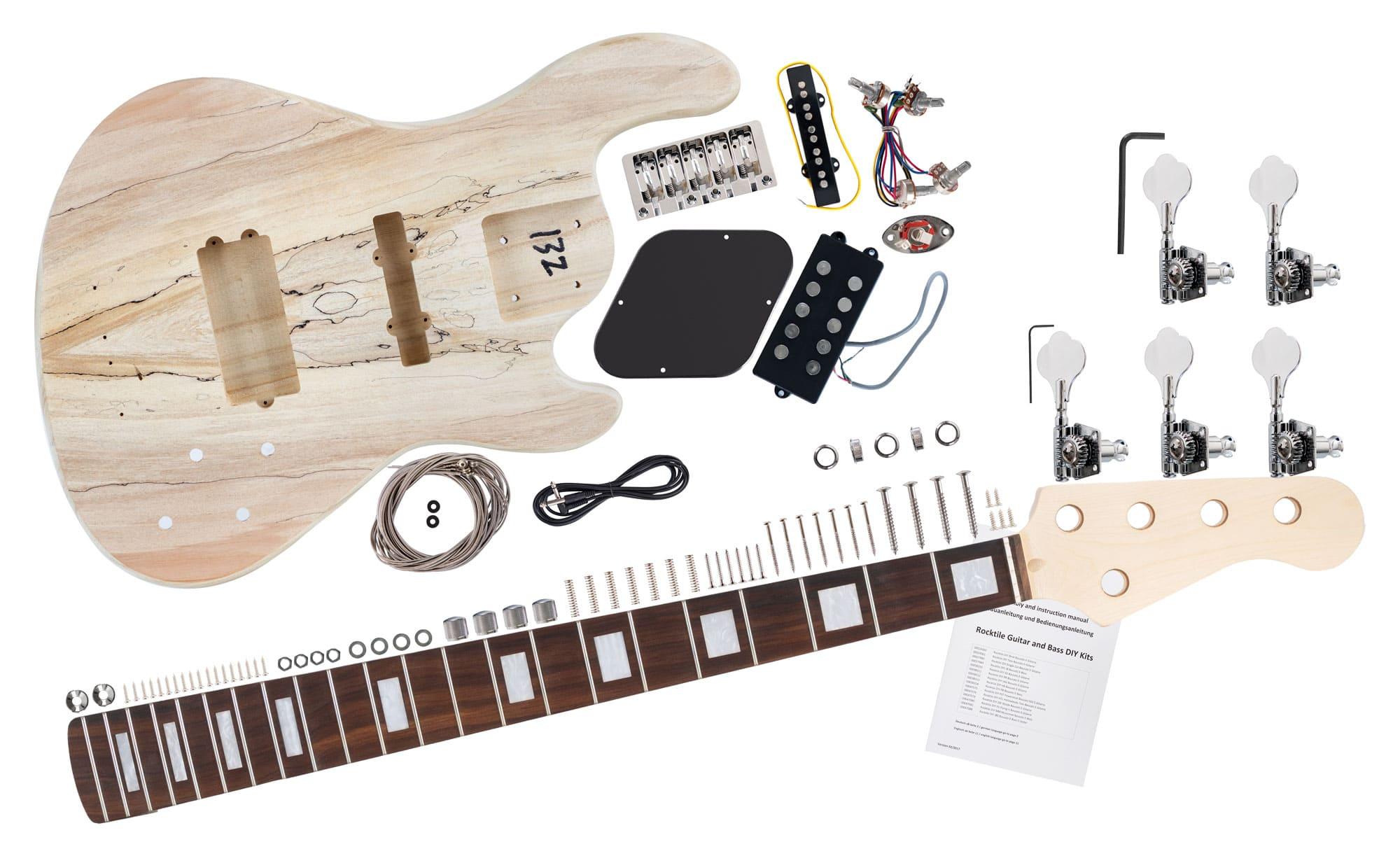 Rocktile E-Bass Bausatz JBH5-Style