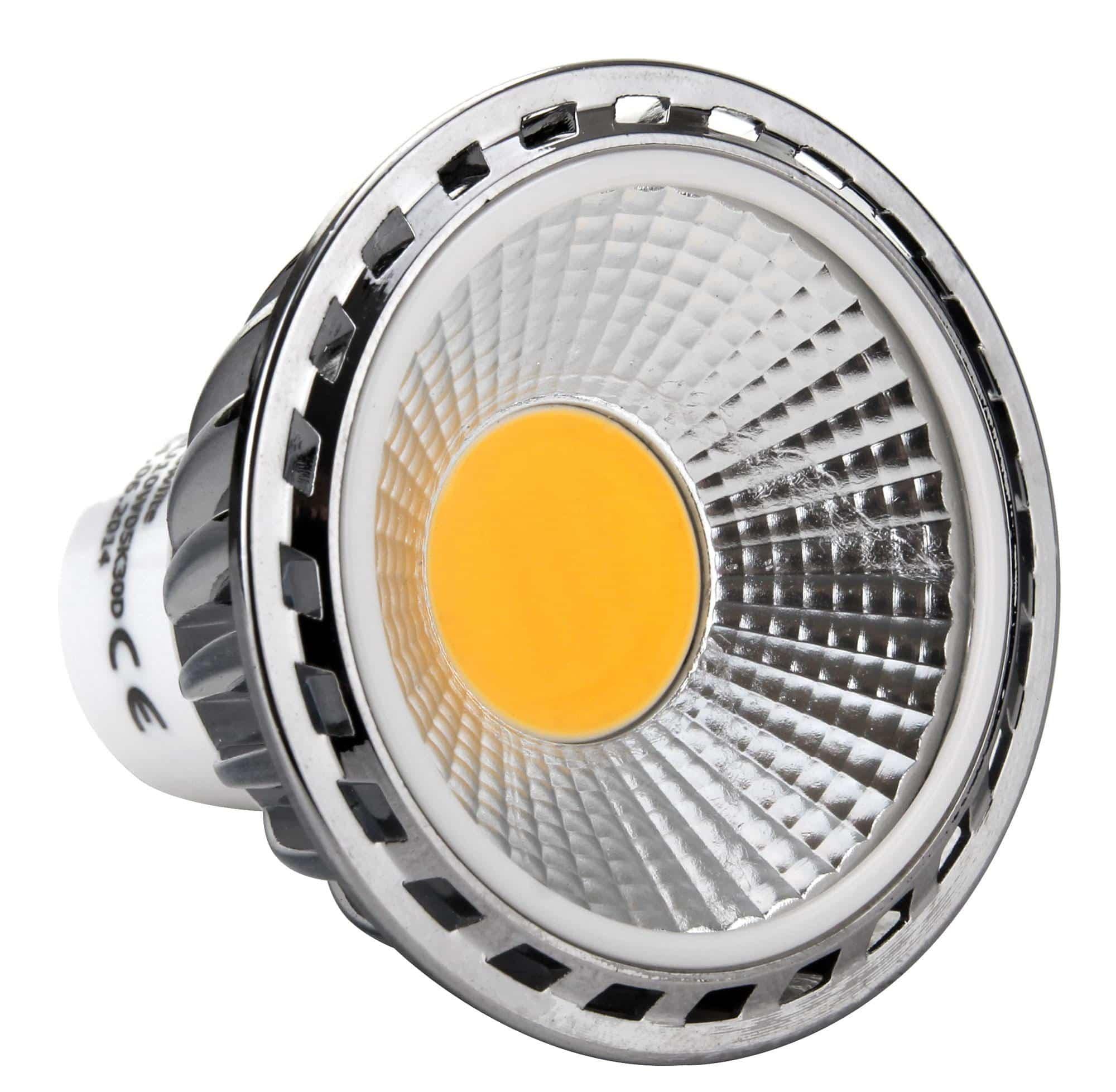 Showlite LED Spot GU10W05K30N 5 Watt, 330 Lumen, Sockel GU10, 3000 ...