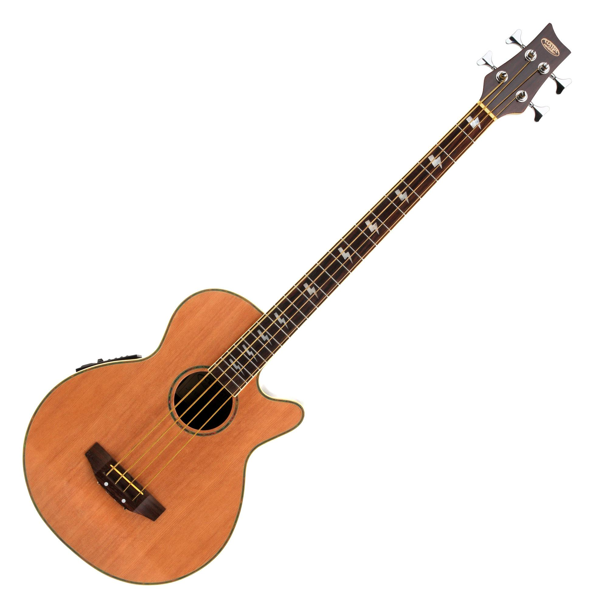 Classic Cantabile AB-40 Acoustic Bass Natural (bass guitar with ...