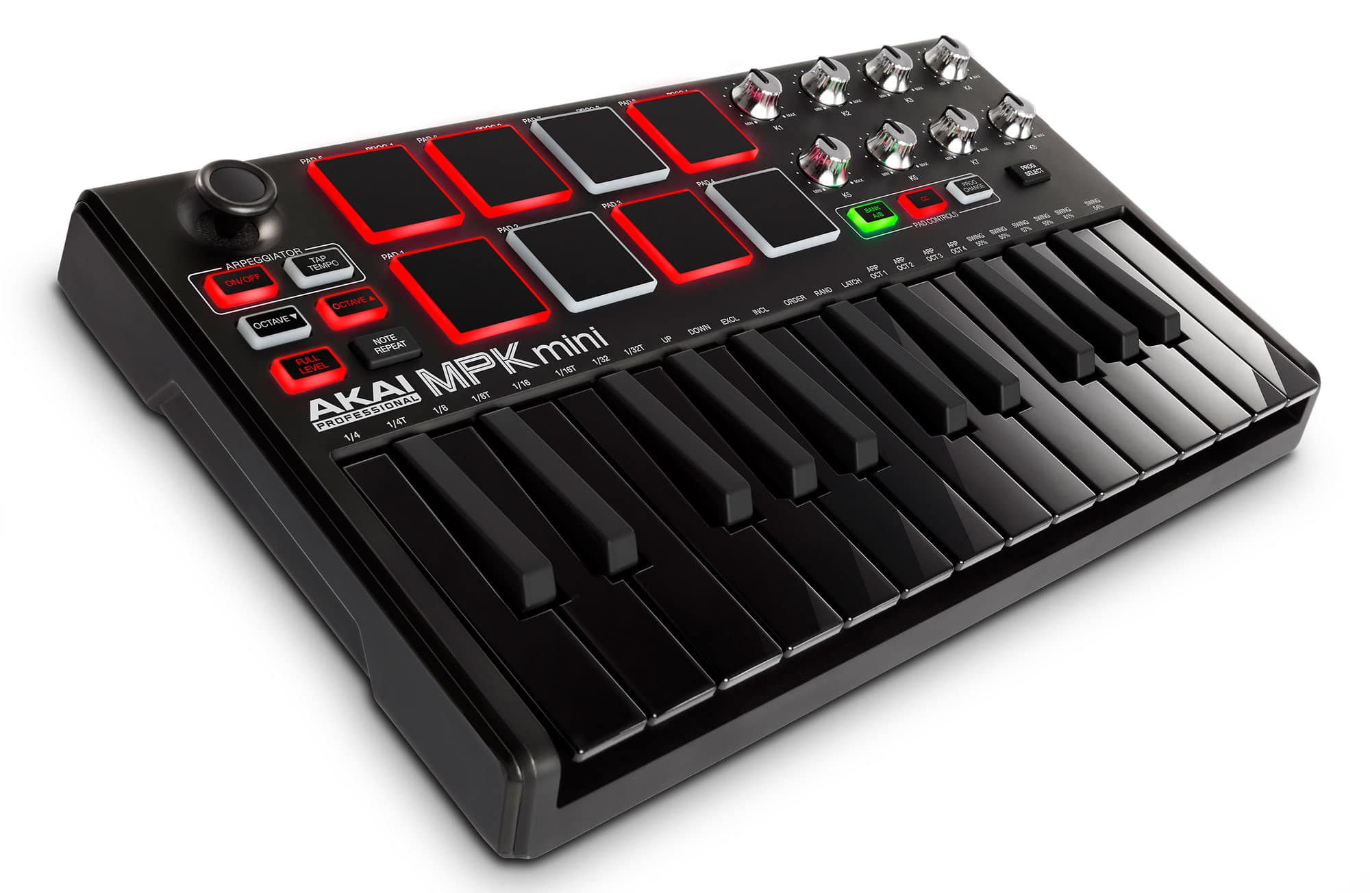 Für Akai Professional Mpk Mini Mkii Kompakter Usb Midi Keyboard Pad Controller Pro-audio Equipment