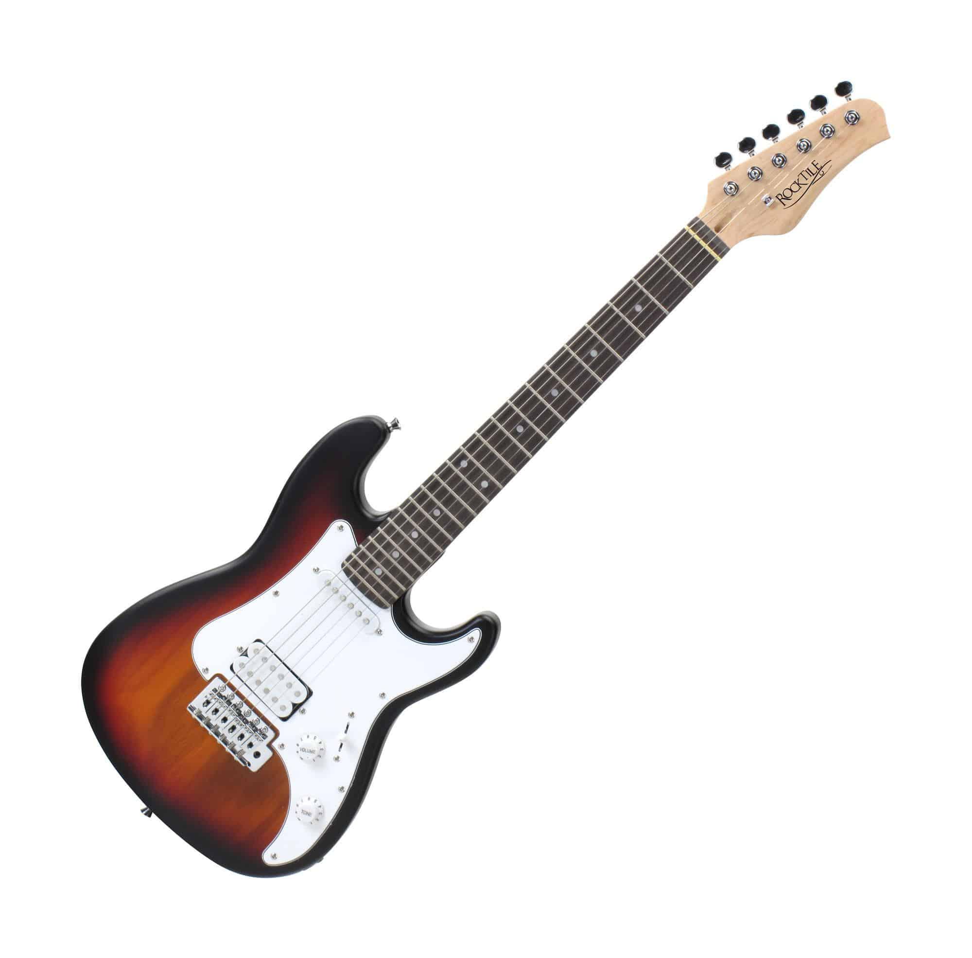 E-Gitarre Einsteiger Stimmgerät Gigbag Tragetasche Komplett Set für Anfänger