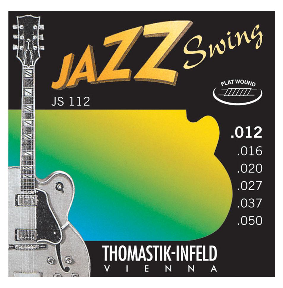 Legendärer JS111 Jazzsaiten-Satz für E-Gitarren Flat Wound 011-047 Light