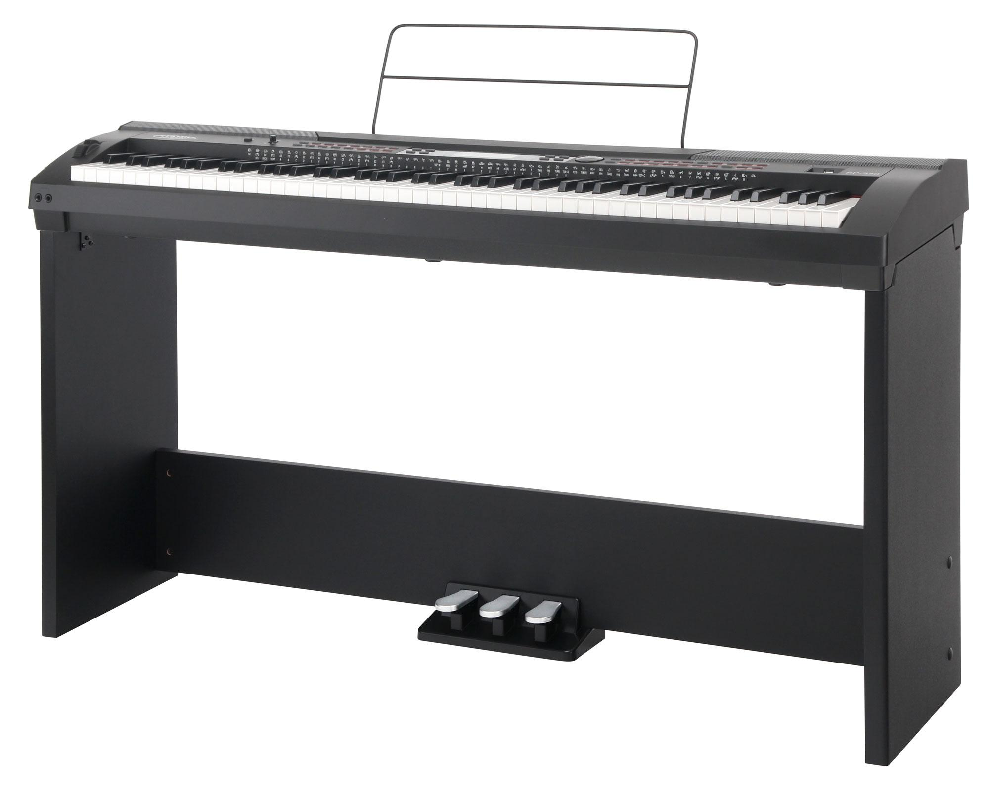 classic cantabile sp-250 bk stagepiano black
