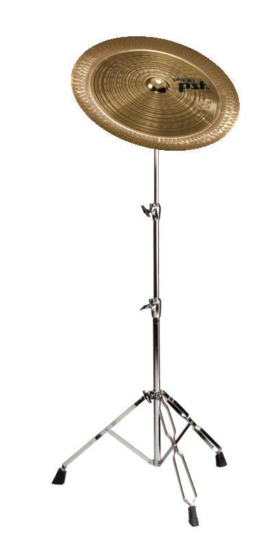 """tolles Paiste 18/"""" PST 5 China mit Galgenständer Set Ideal für Erweiterung Drums"""
