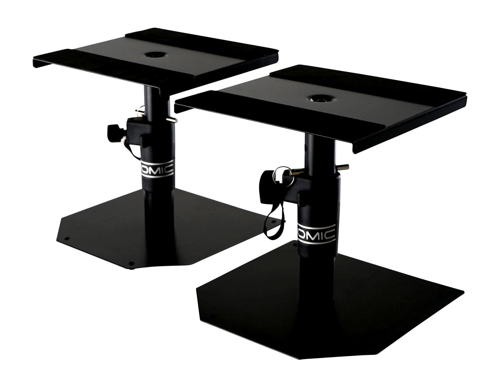 K/&M 26772 Monitor Tischstativ Studiomonitor Lautsprecher Studio Home Stativ PA