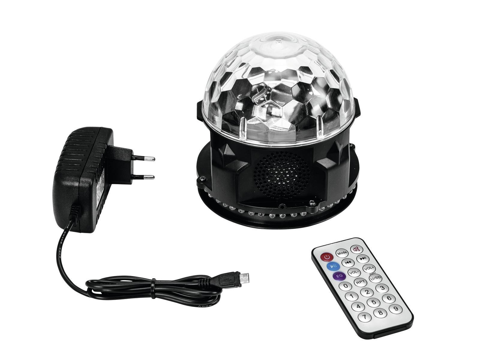 Eurolite Akku Mini BCW-4 RGB Flower Discokugel LED