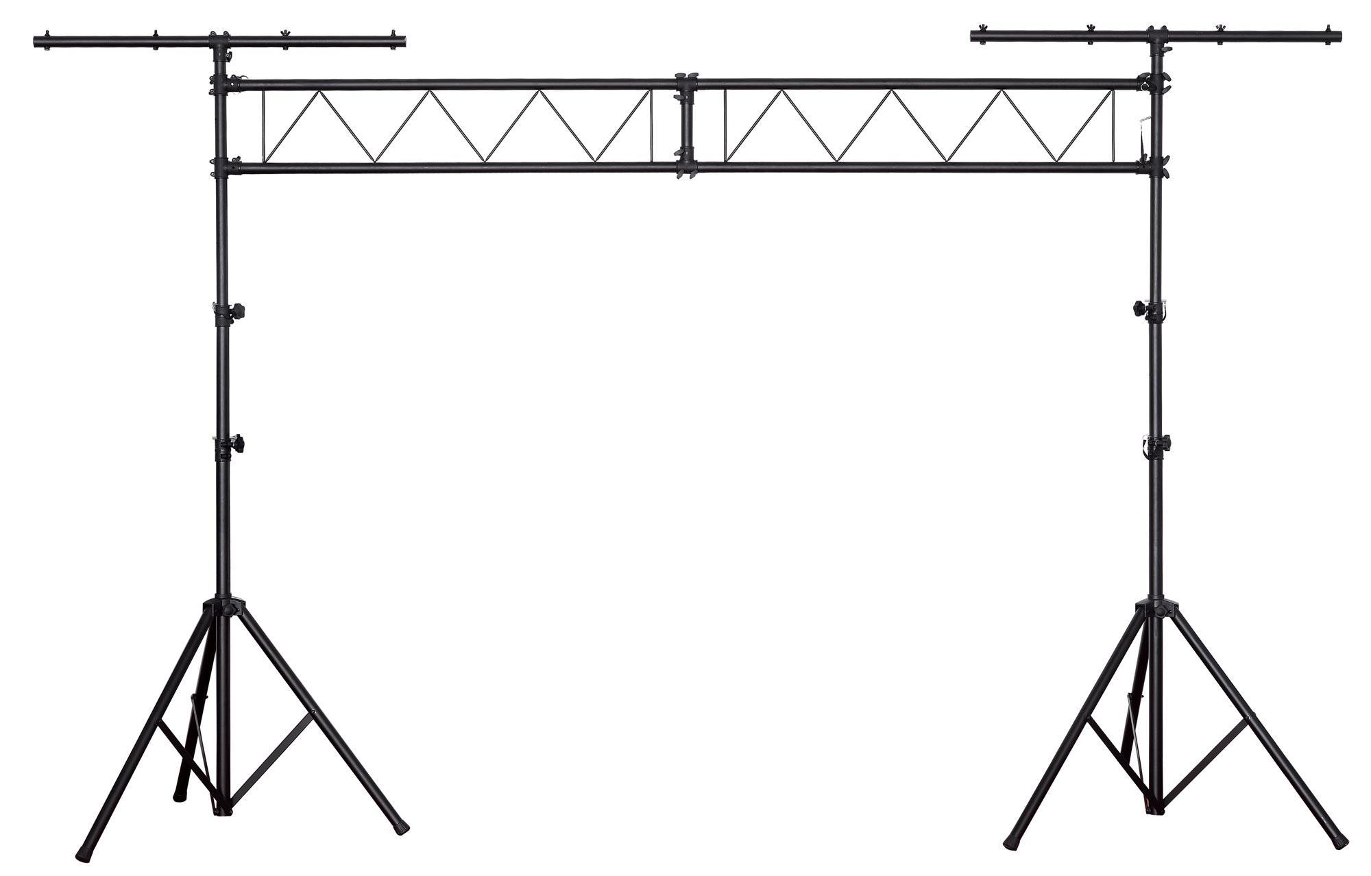 Showlite struttura luci 2 traverse e 2 supporti luci