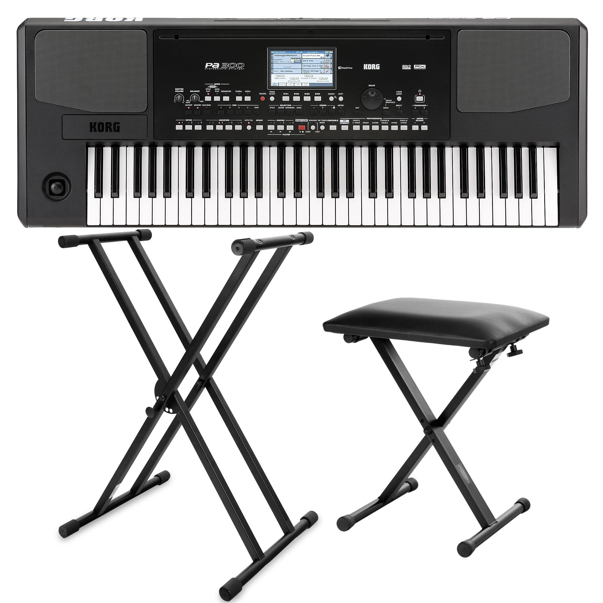 Korg PA-300 Keyboard SET