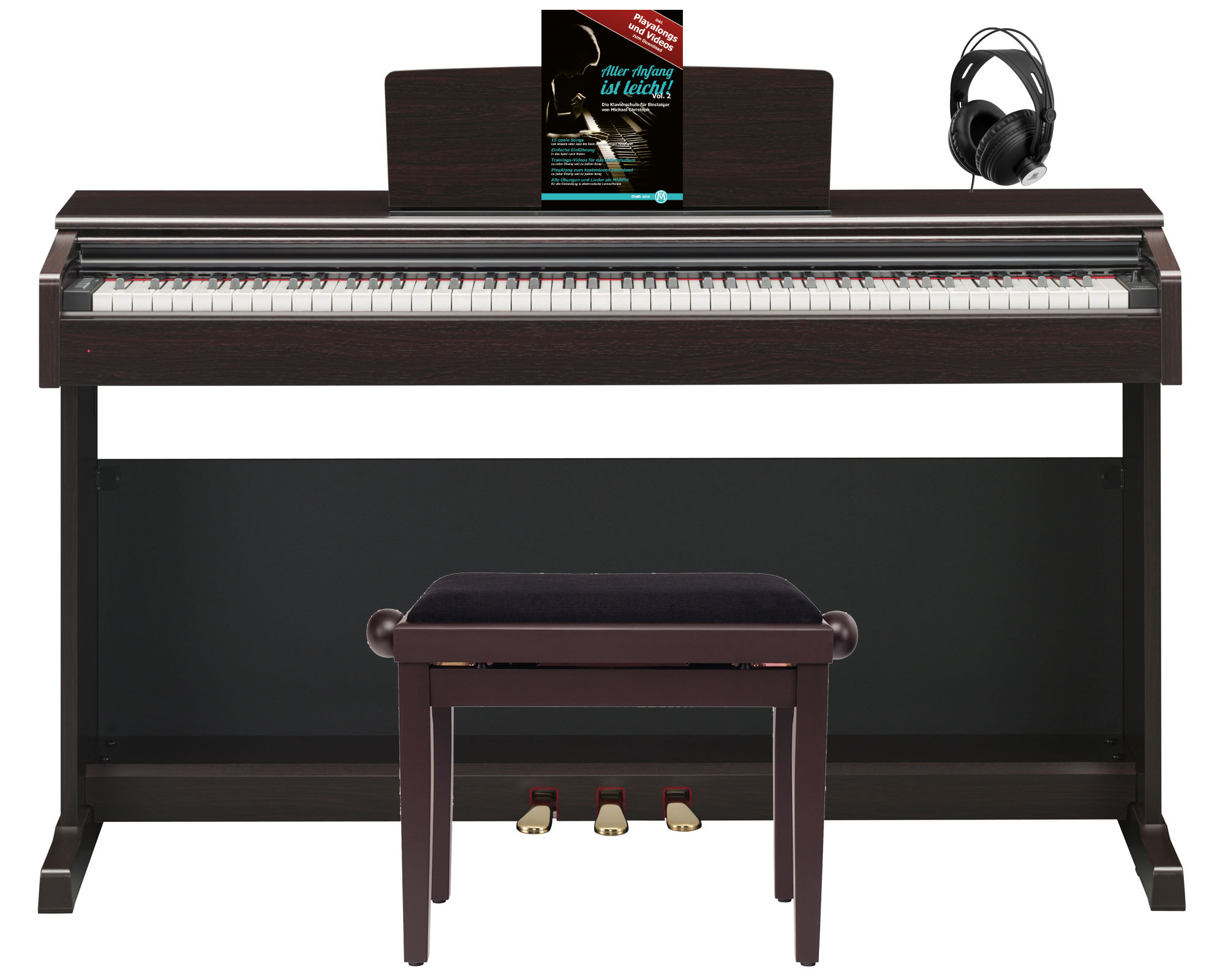 Yamaha YDP-144 WH weiß mattDigital PianoEpianoelektrisches Klavier