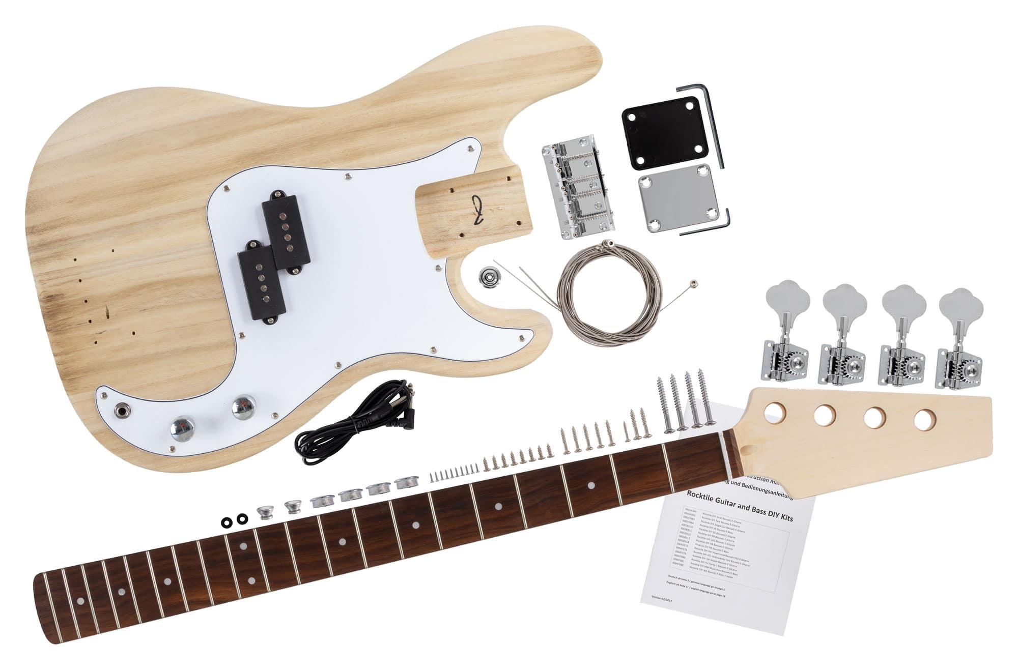 Rocktile E-Bass Bausatz PB-Style