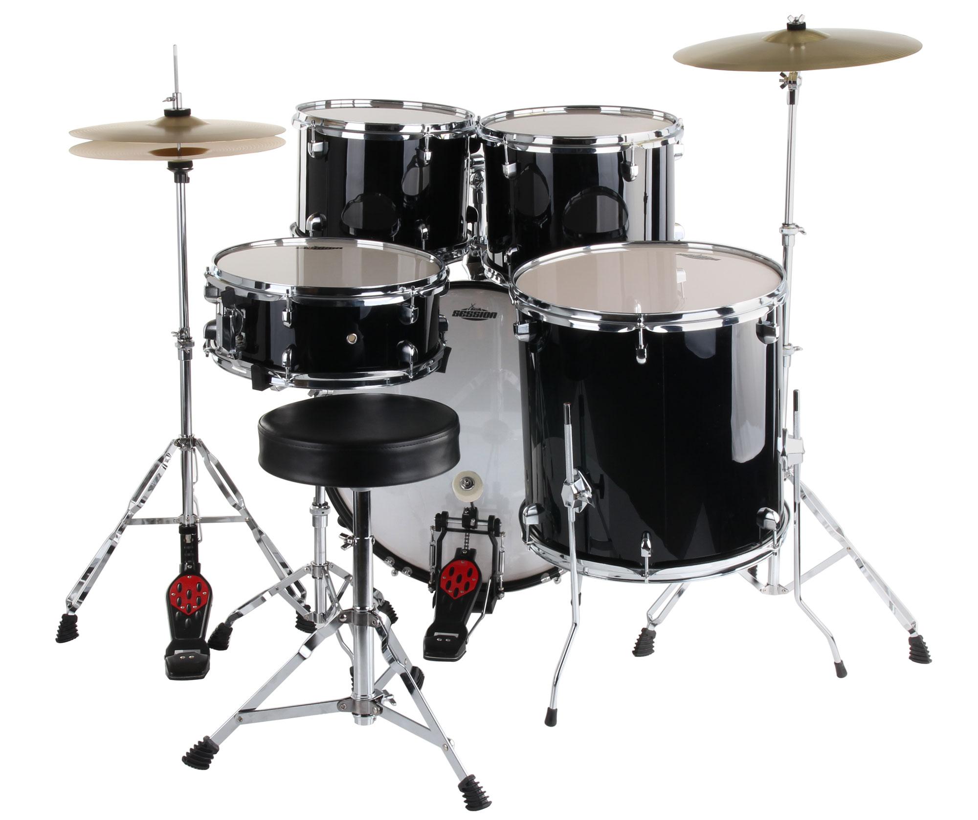 Musikinstrument Accs Schlagzeug Set Stimmschlüssel Schwarz Drumer Drum T