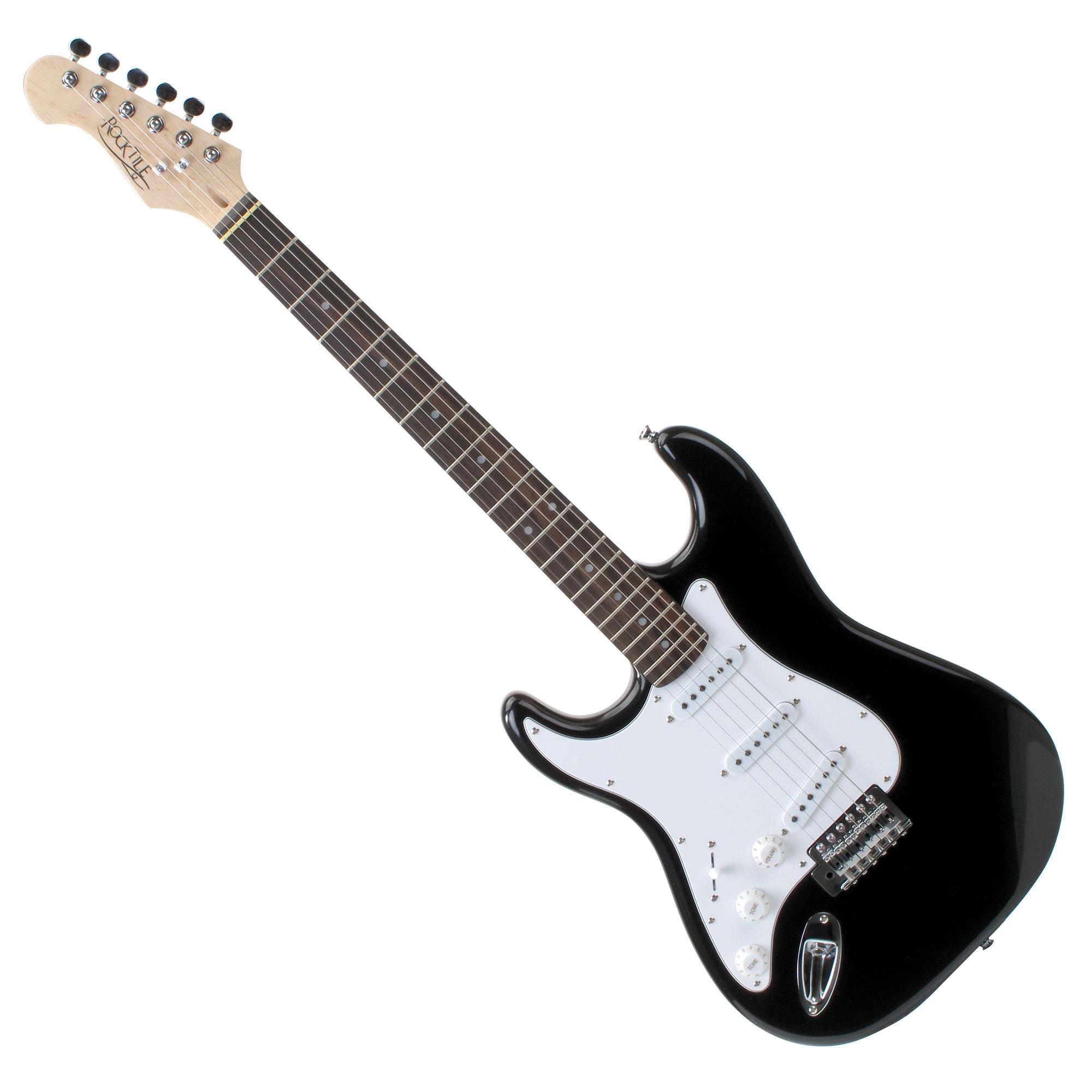 Rocktile Pro St3 Bk Lefty Electric Guitar Set