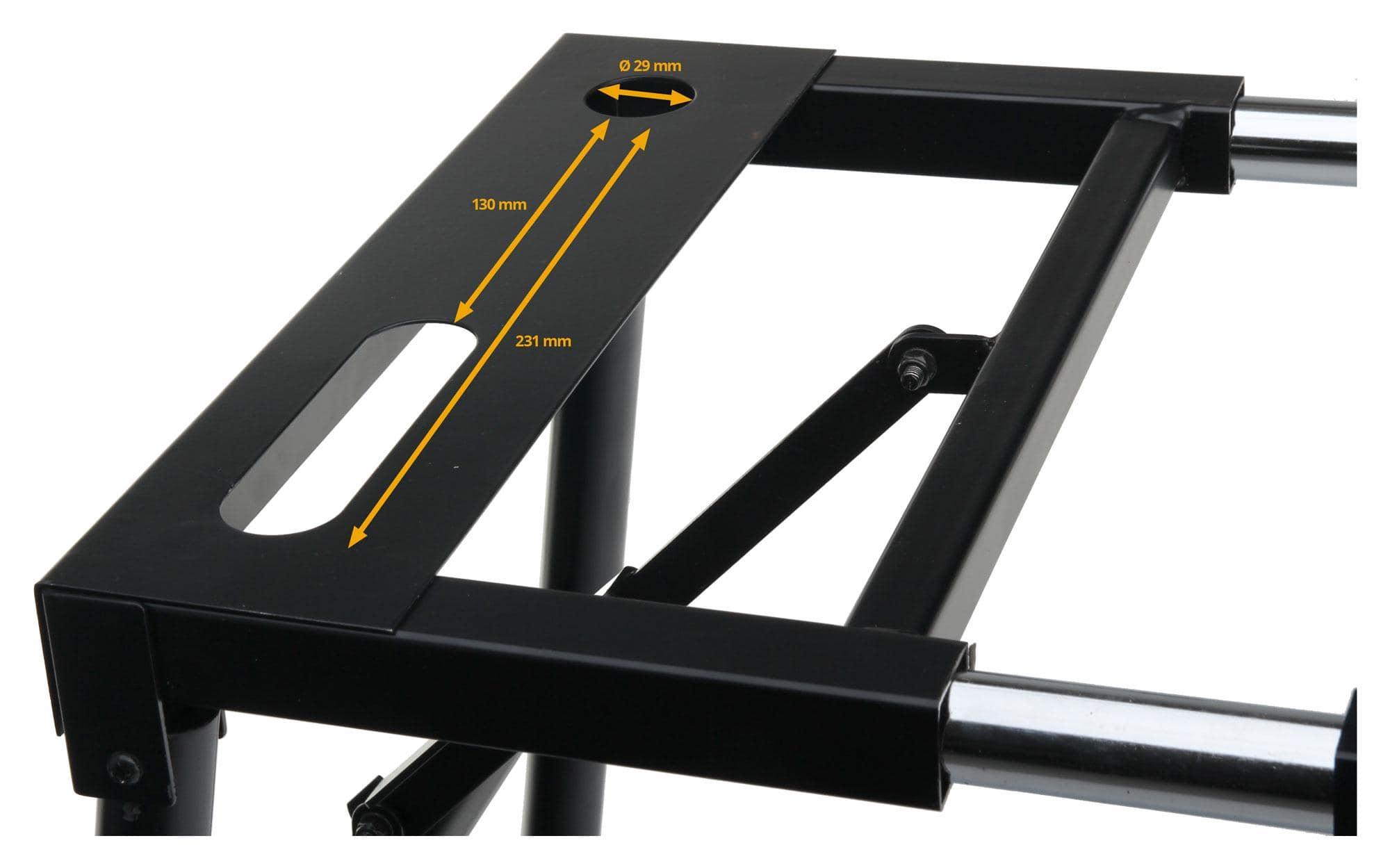 Base tavolo stand supporto per tastiere e consolle classic cantabile