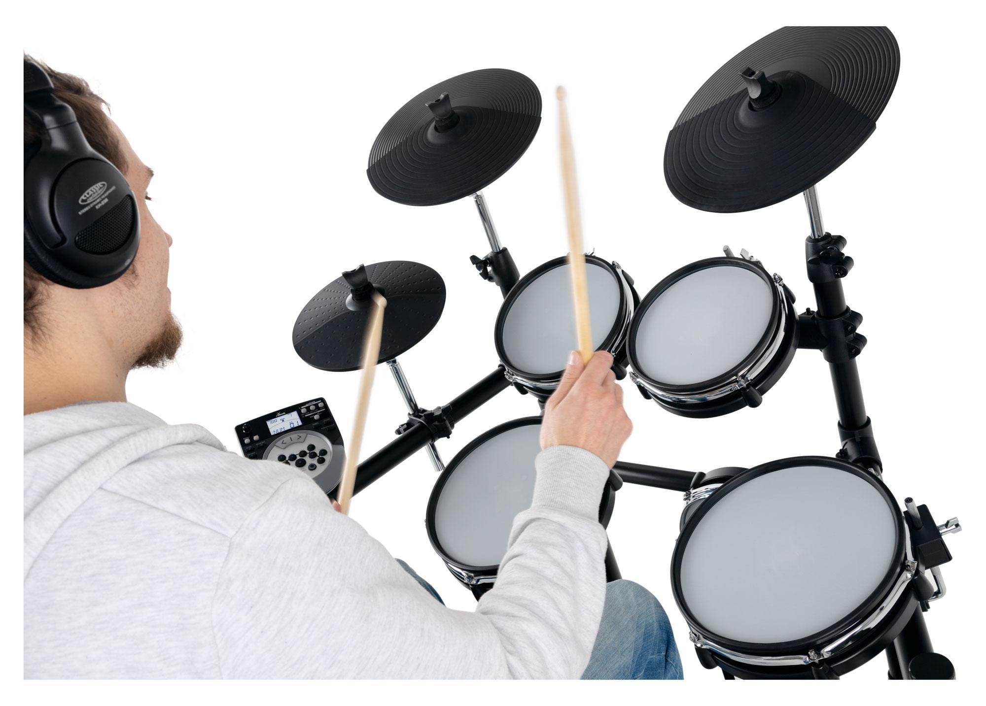 XDrum DD-530 E-Drum Set mit Mesh Heads