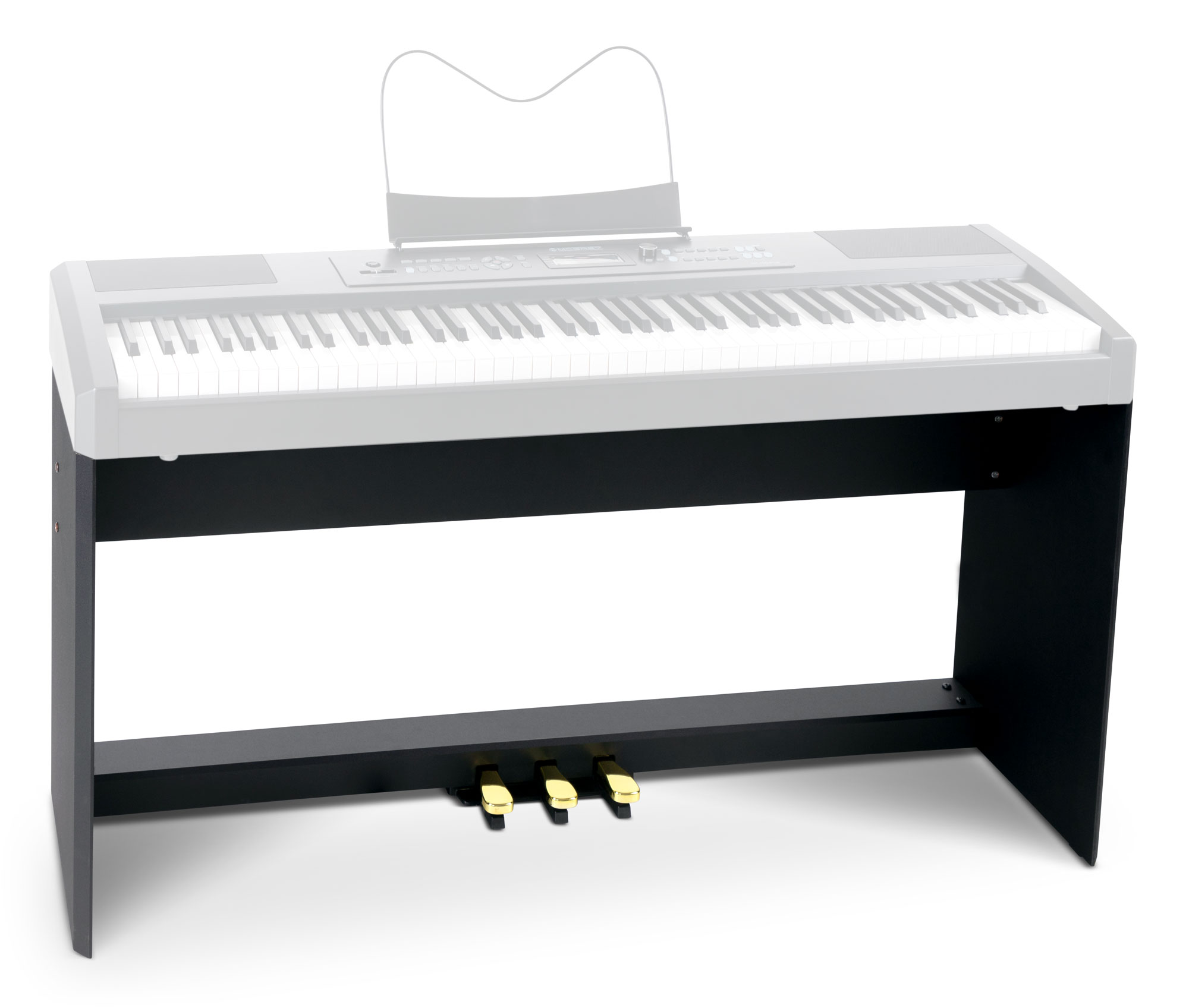 Robuster Classic Cantabile Fußschalter Sustainpedal für Keyboard /& Piano NEUWARE