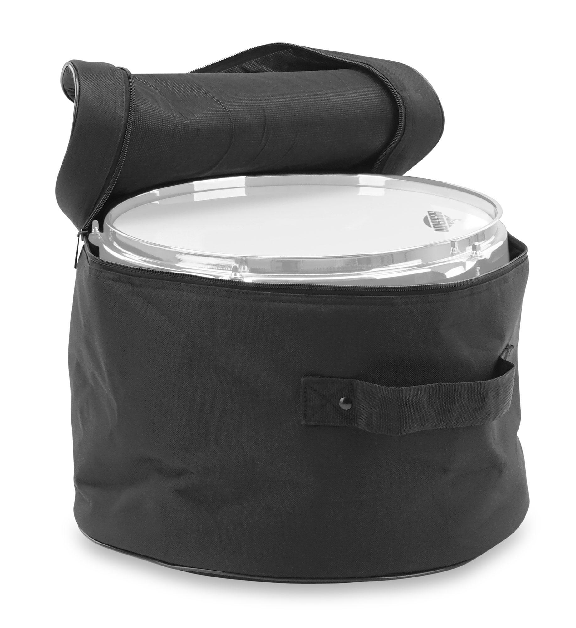 Drum-Bag für Hänge Tom mit stabilen Tragegriffen /& großzügiger Innenpolsterung