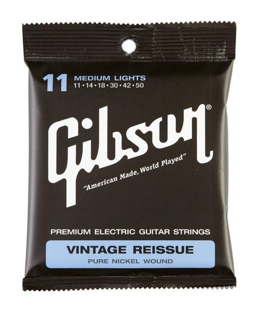 .050 MADE IN USA GIBSON VINTAGE REISSUE MEDIUM E-GITARREN SAITEN STÄRKE .011