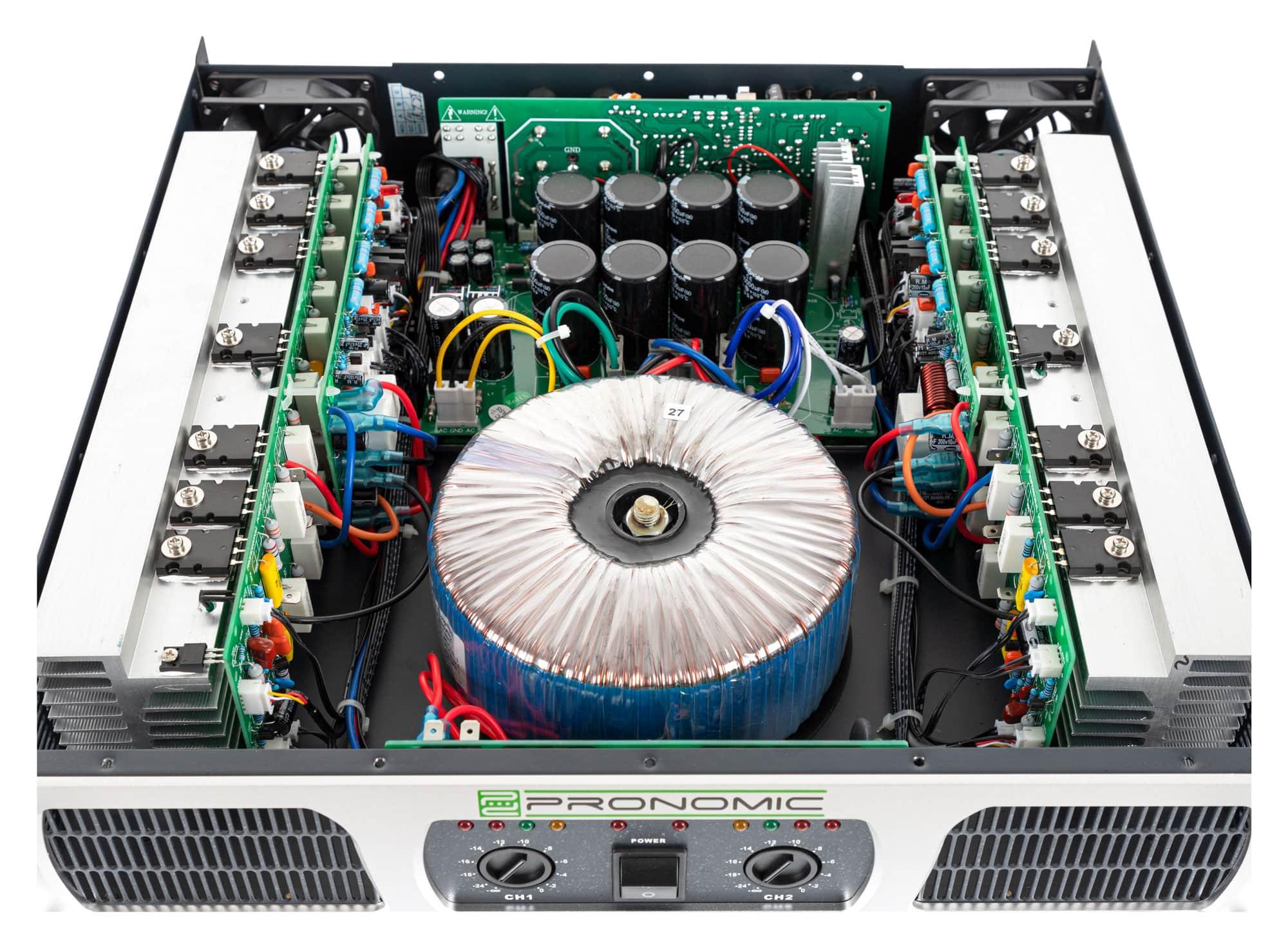 Pronomic Tl 400 Power Amplifier 2 X 1000 Watts Bridging Adapter For Amplifiers Icon