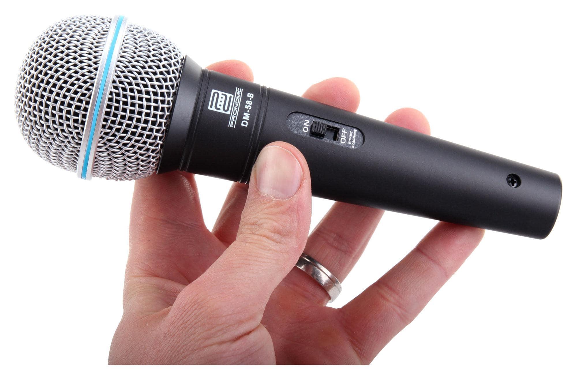 ... Pronomic Superstar JACK Lot de Microphones Microphones Pied XLR Câble jack - Icon ...