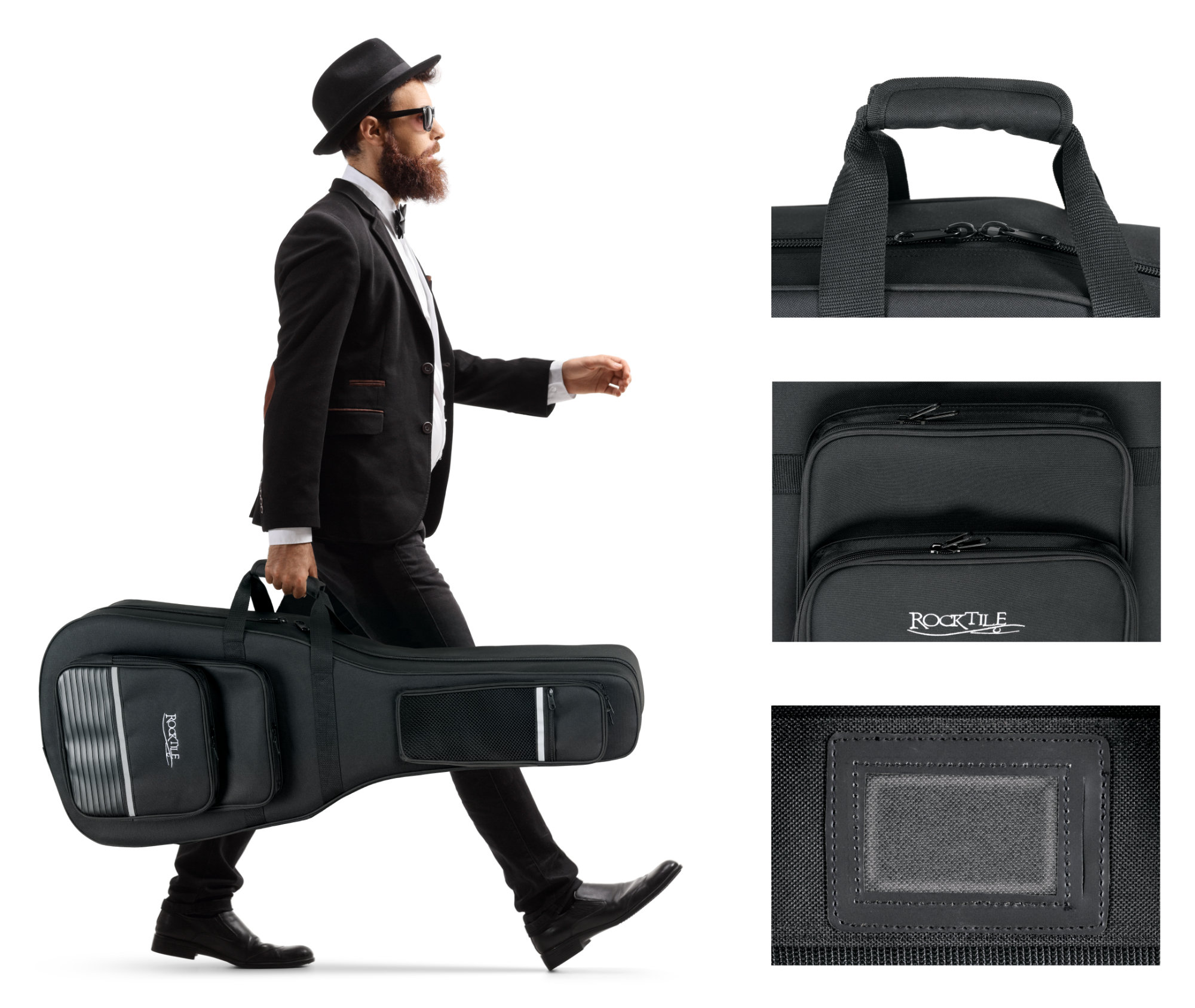 Rocktile Classical Guitar Case Light