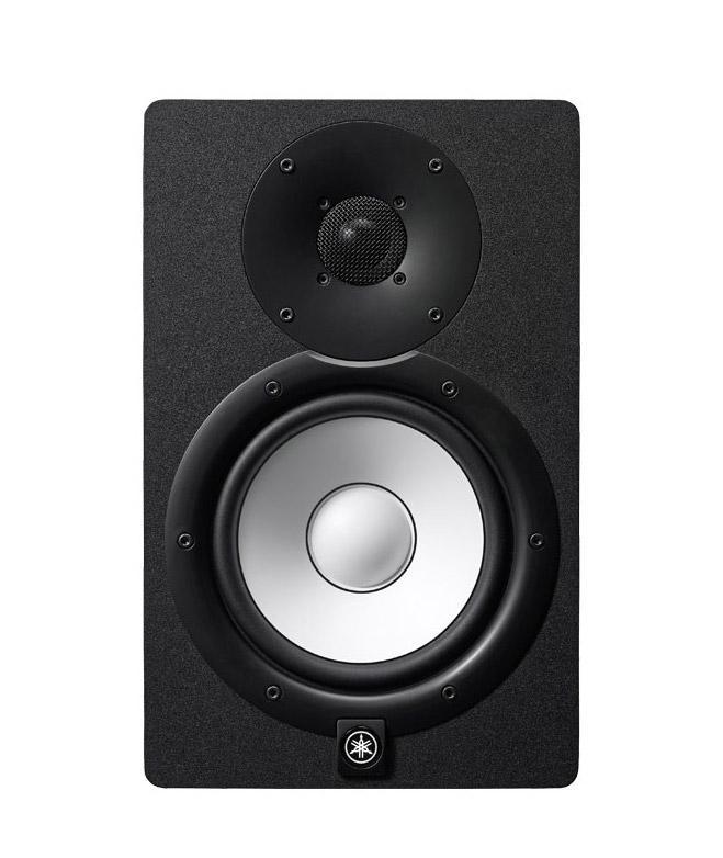 Yamaha HS 7 Aktiv Studiomonitor 60 W+ 35 W SET mit 2x XLR-Kabel und ...
