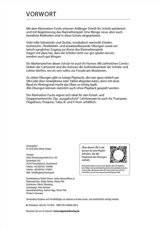 Der Klarinetten Fuchs Band 1