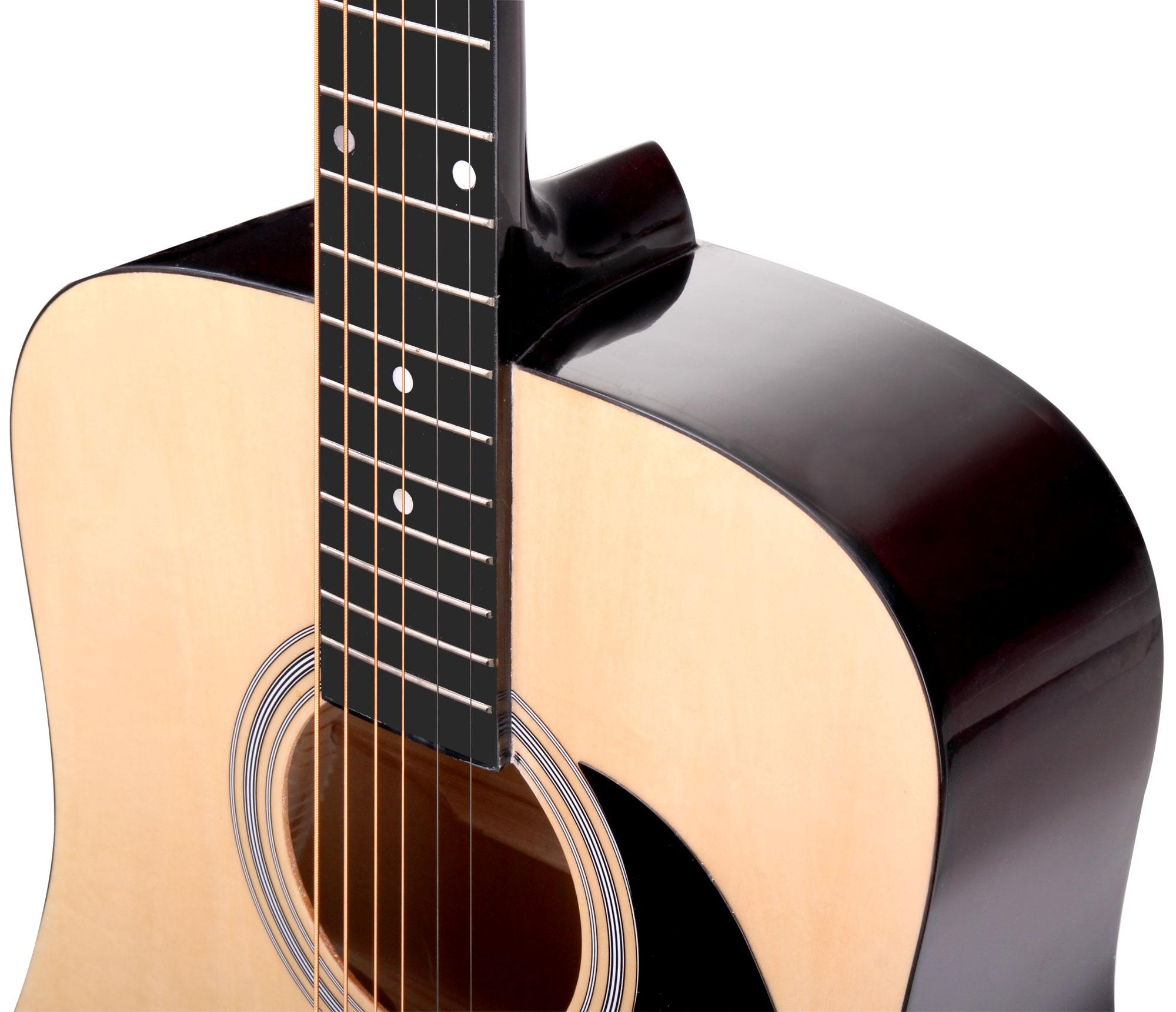classic cantabile ws-10nat guitare folk nature