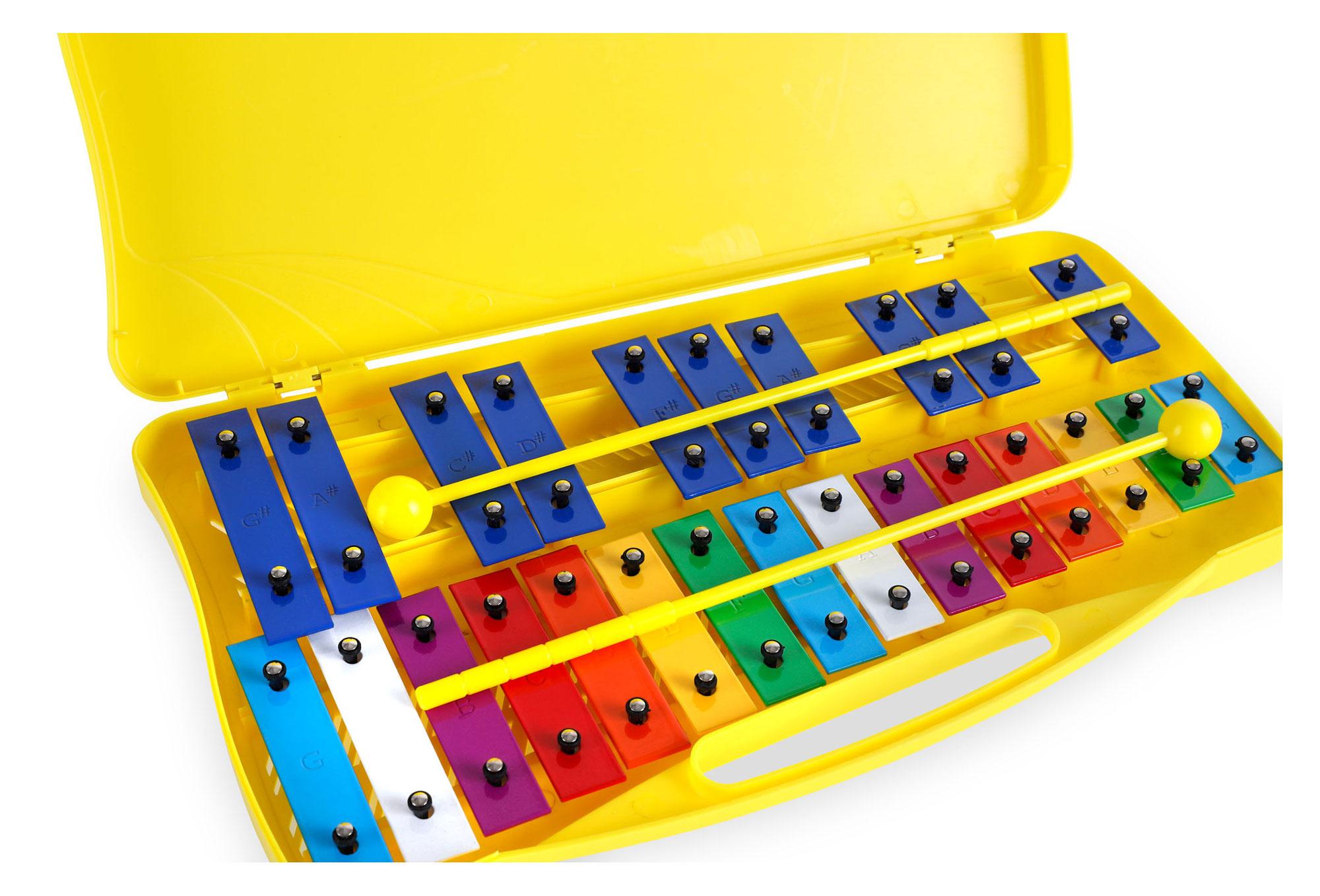 Classic Cantabile Sopran Glockenspiel Xylofon chromatisch mit Schlägel Xylophon