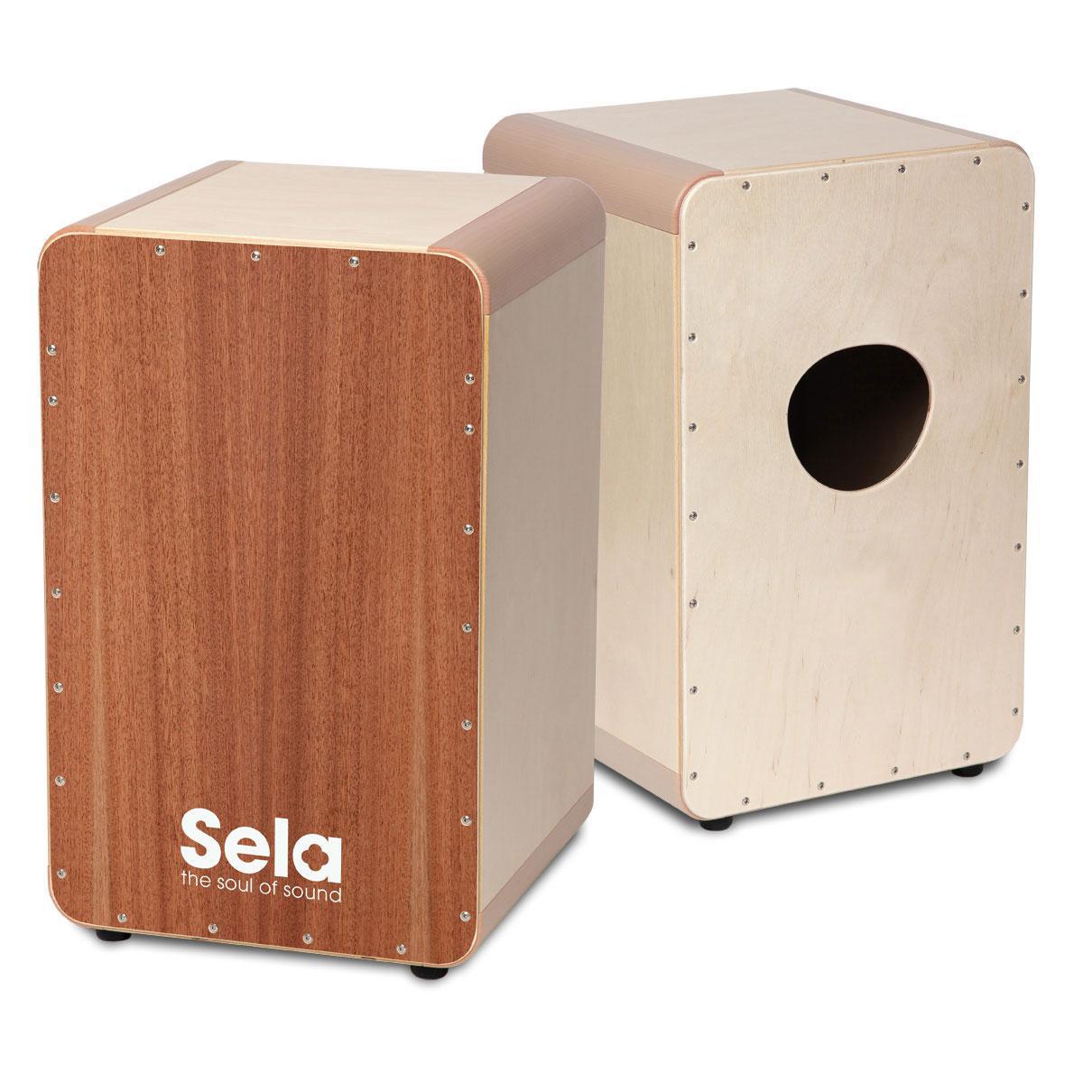 Sela Cajon Finish Set Cajon-Lack und spezieller Pinsel SE 028 NEU
