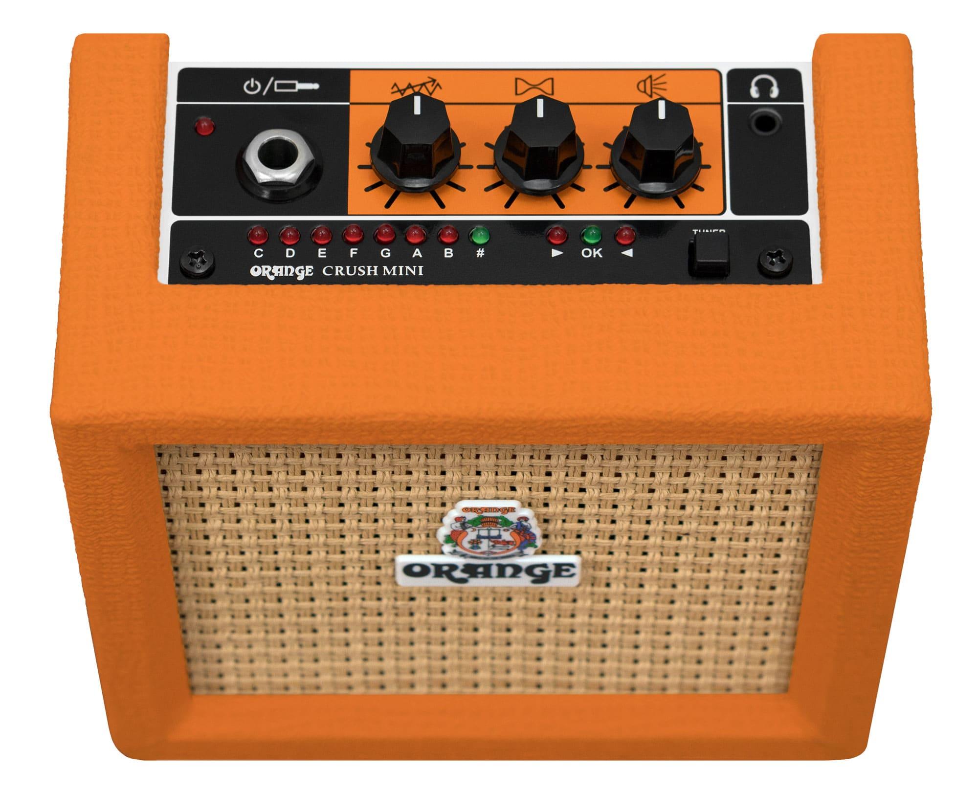 Orange Crush Mini Black Gitarren Combo 3 Watt Verstärker Lautsprecher Stimmgerät