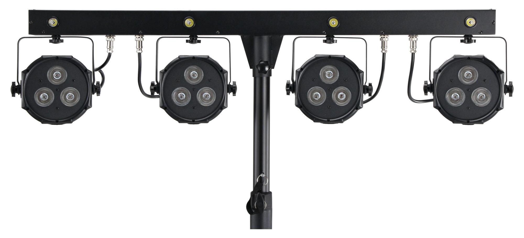 Showlite LB-4390 LED Komplettanlage RGB Licht System
