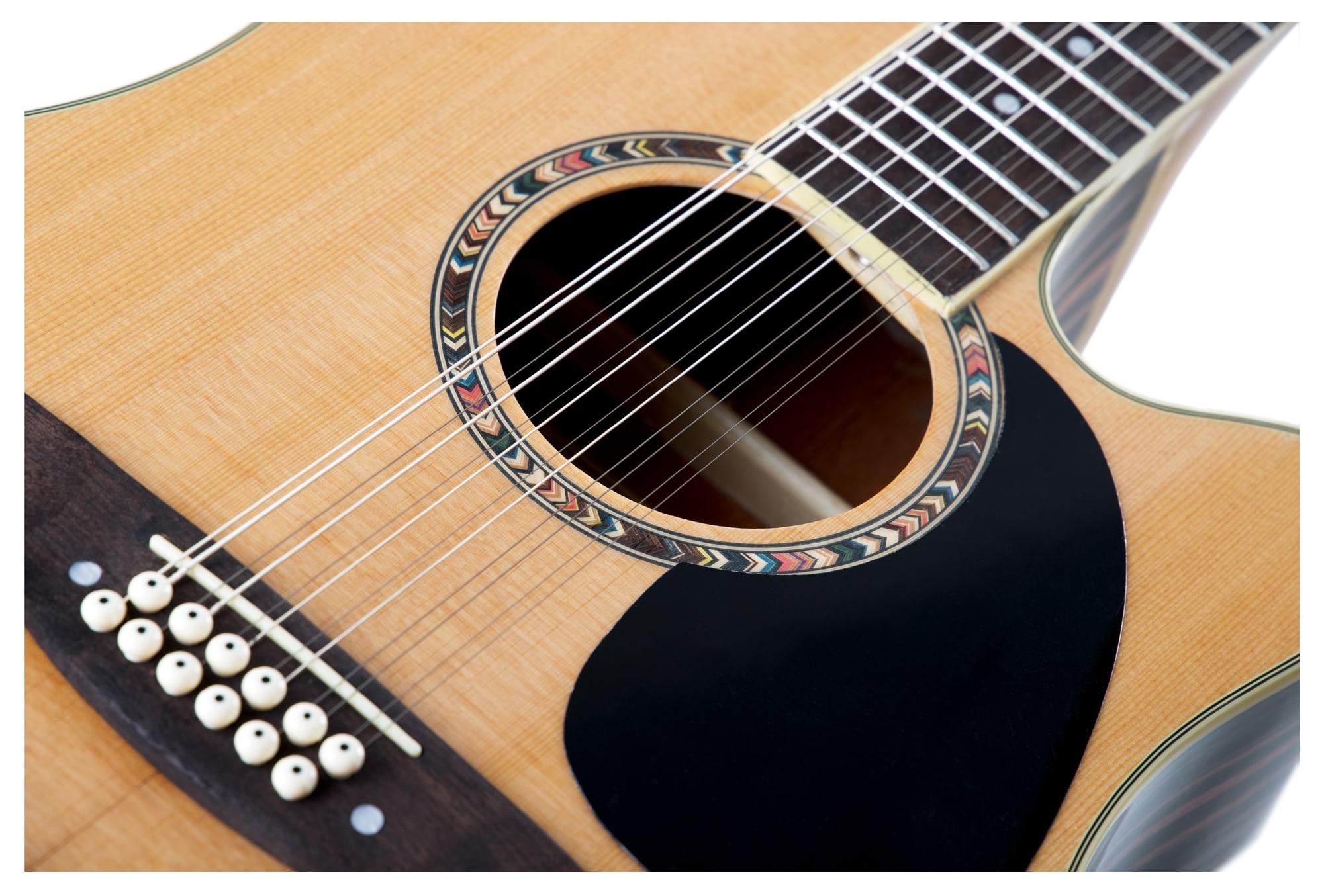 Chitarra folk classic cantabile ws 12 12 corde legno naturale