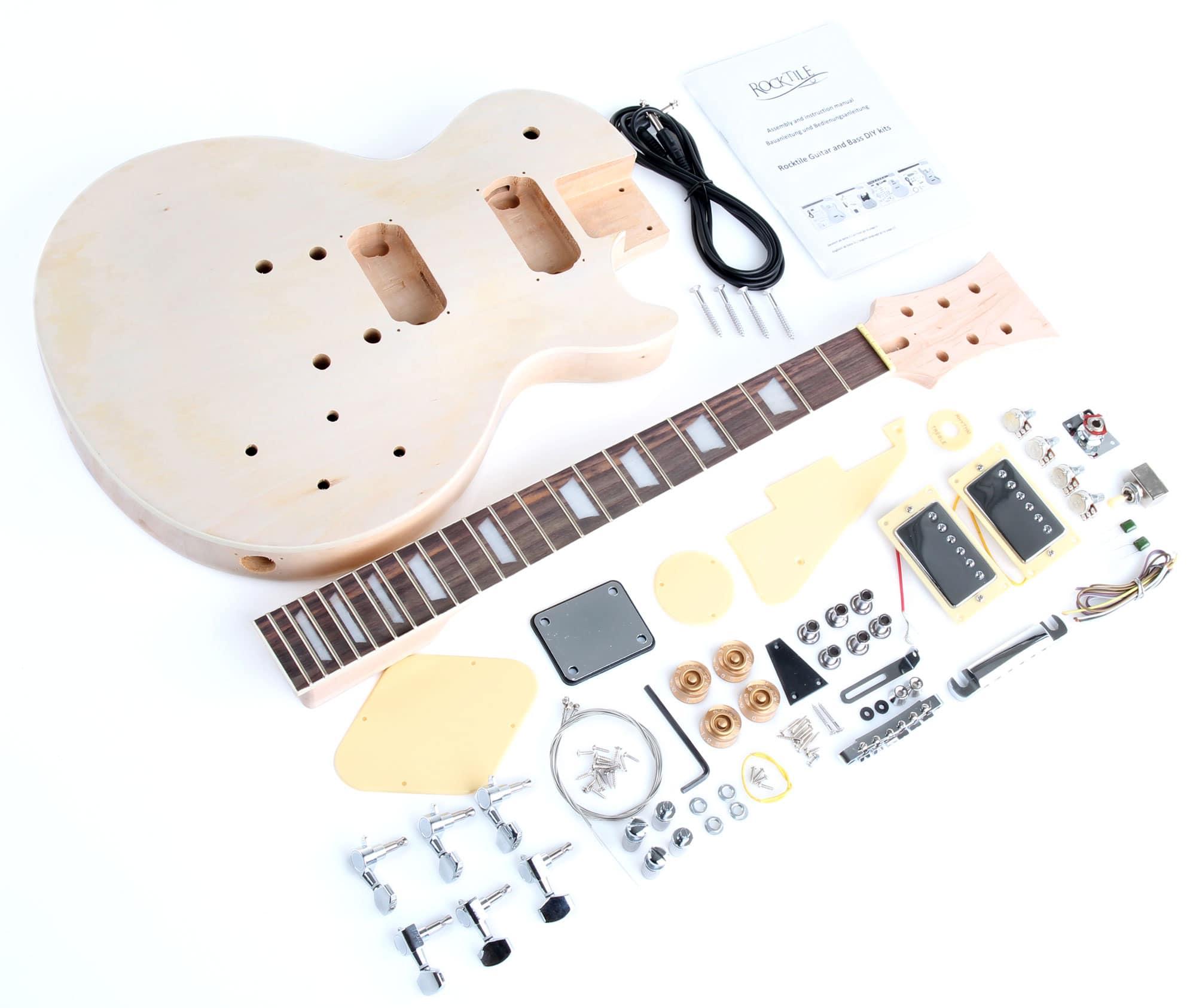 Rocktile E-Gitarren Bausatz Single Cut-Style
