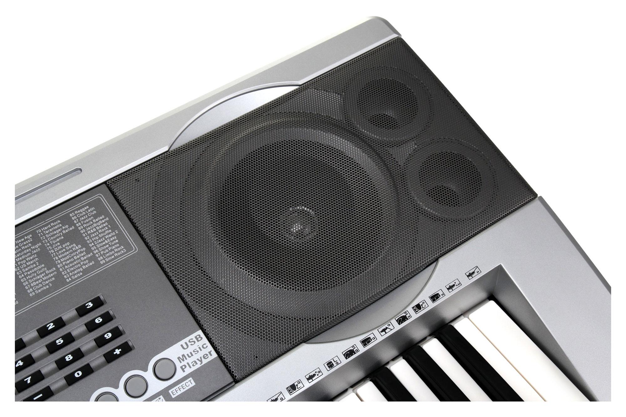 Set tastiera mcgrey pk 6110 con porta usb inclusi supporto e sgabello