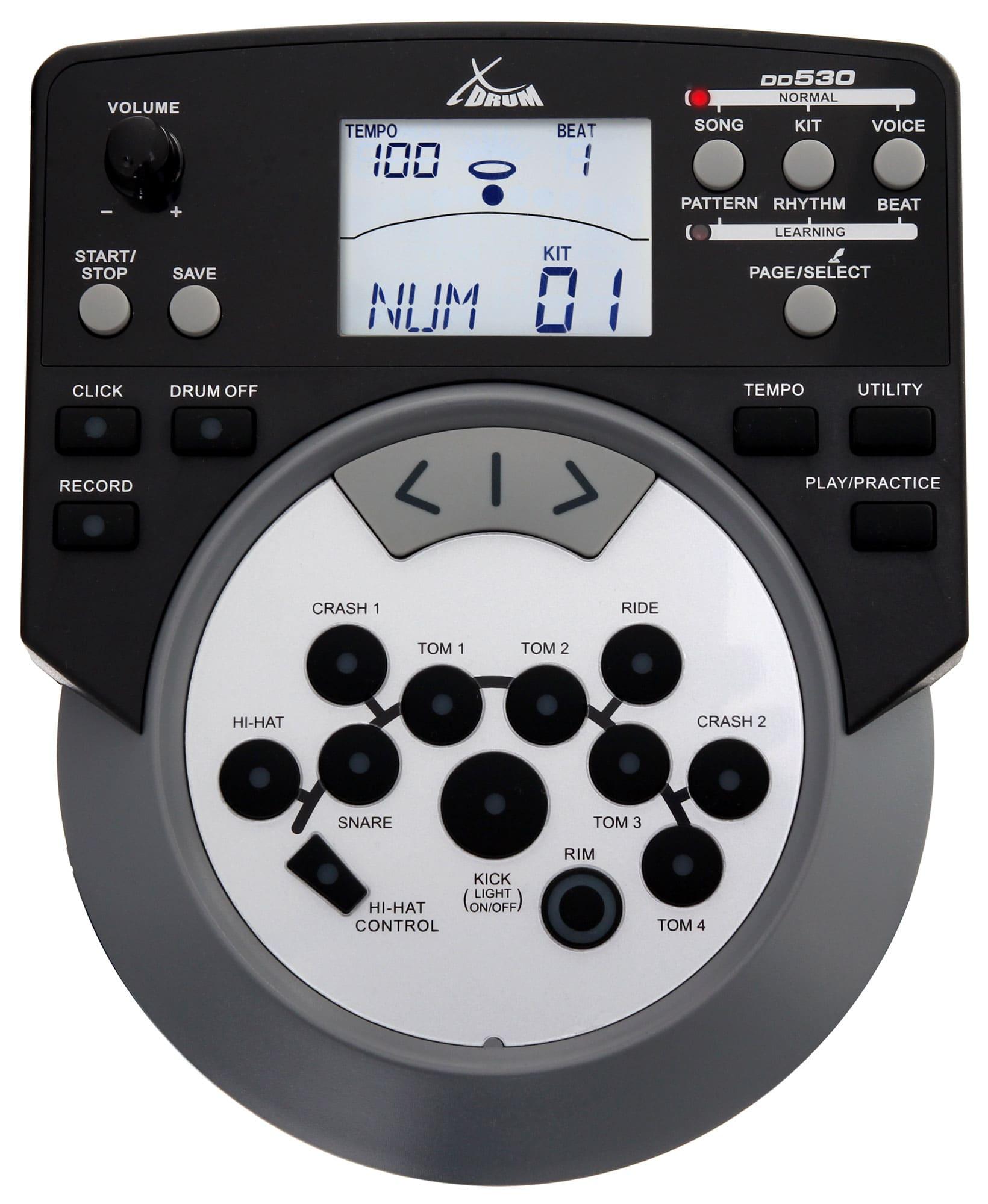 ... XDrum DD-530 batteria elettronica pelli mesh Set con sgabello e cuffie  - Icon 4 ... df8e3b198a49