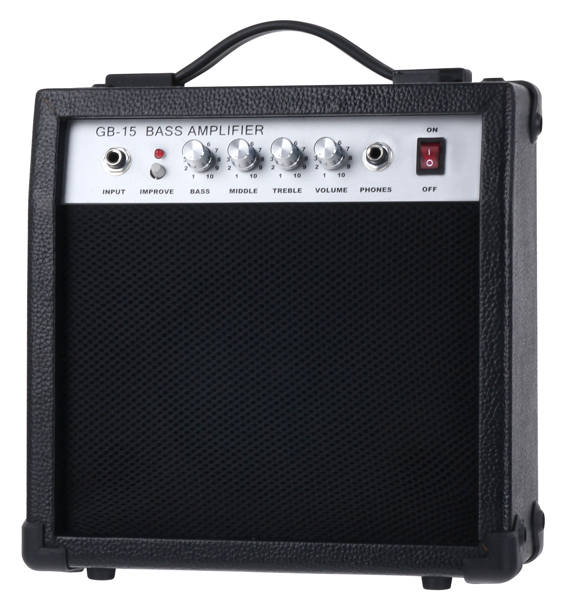 Stimmgerät Rocktile Groover/'s Pack JB E-Bass Set II Black Ständer