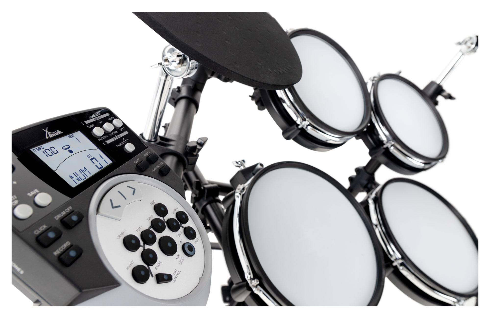 ... XDrum DD-530 E-Drum Set con Mesh Heads - Icon 5 ... 5756749aa562