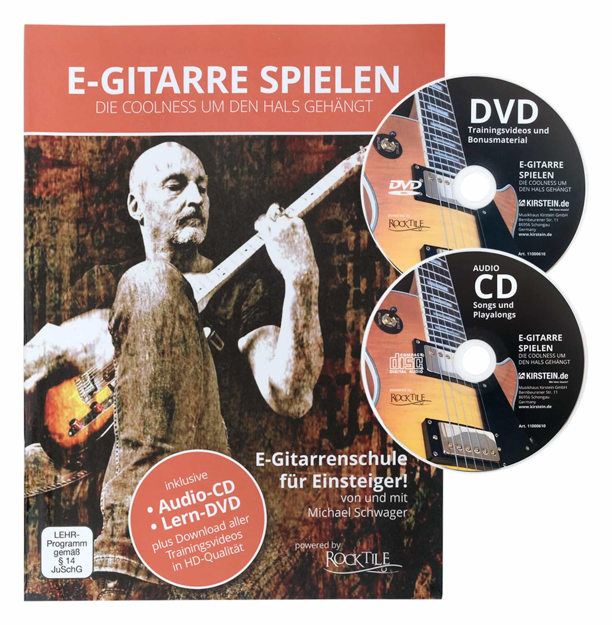 Rocktile Sphere Junior E-Gitarre 3/4 Blau SET inkl. Verstärker ...