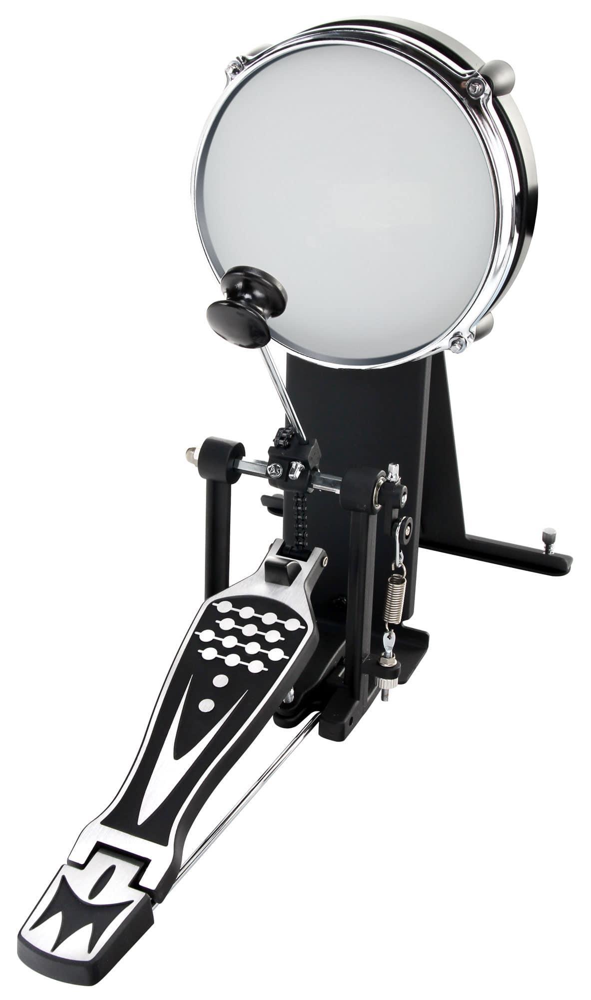 Batteria acustica silver con piatti e sgabello strumenti