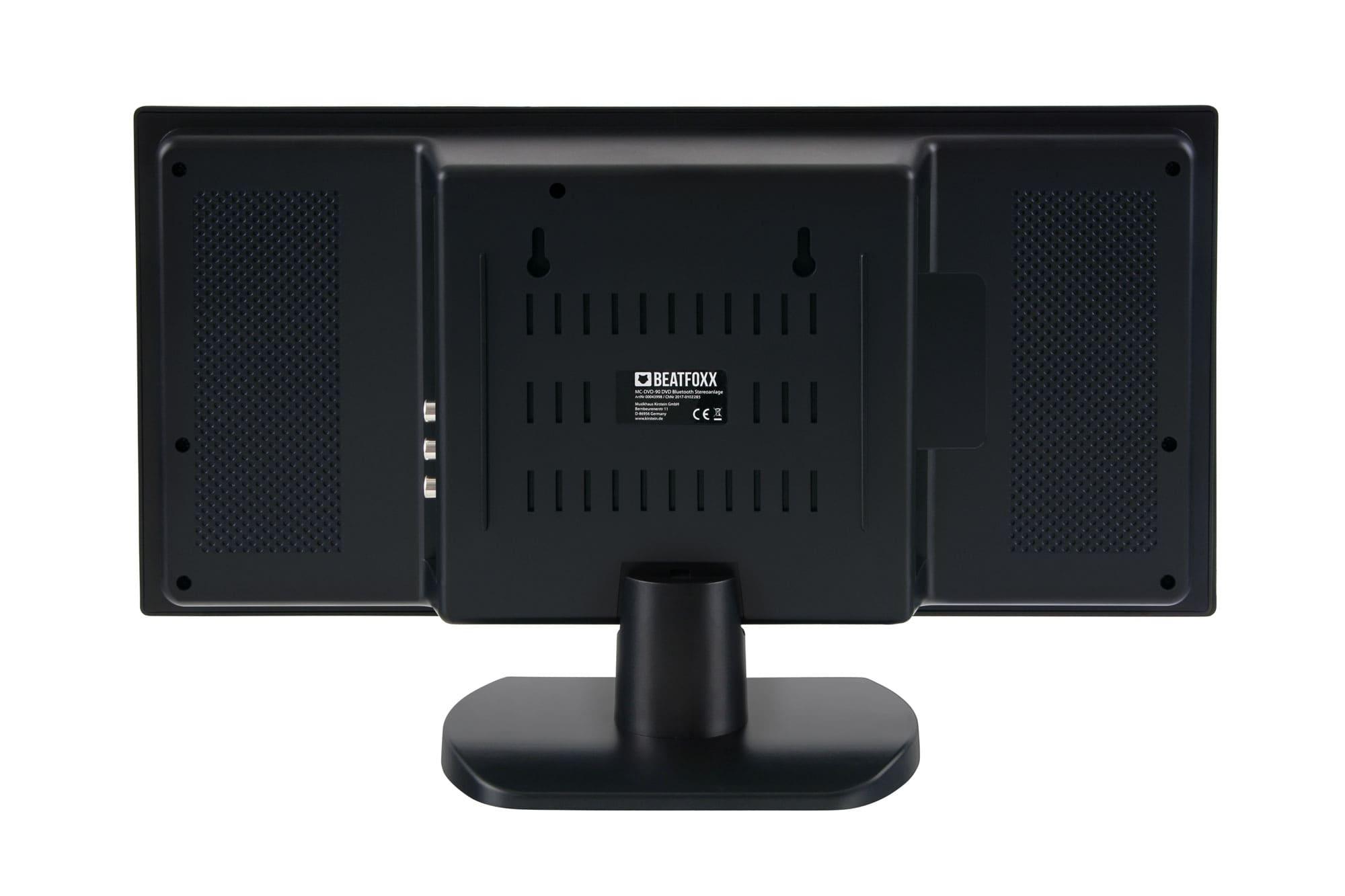 Beatfoxx MCD-60 verticale stereo keten met DVD/CD/MP3 speler, USB/SD ...