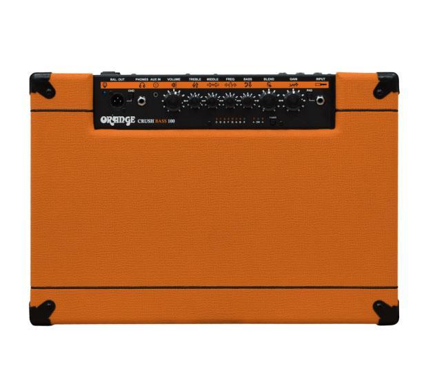 Orange Crush 100 Bass Combo Amplifier Verstärker FX Loop Stimmgerät 100 Watt