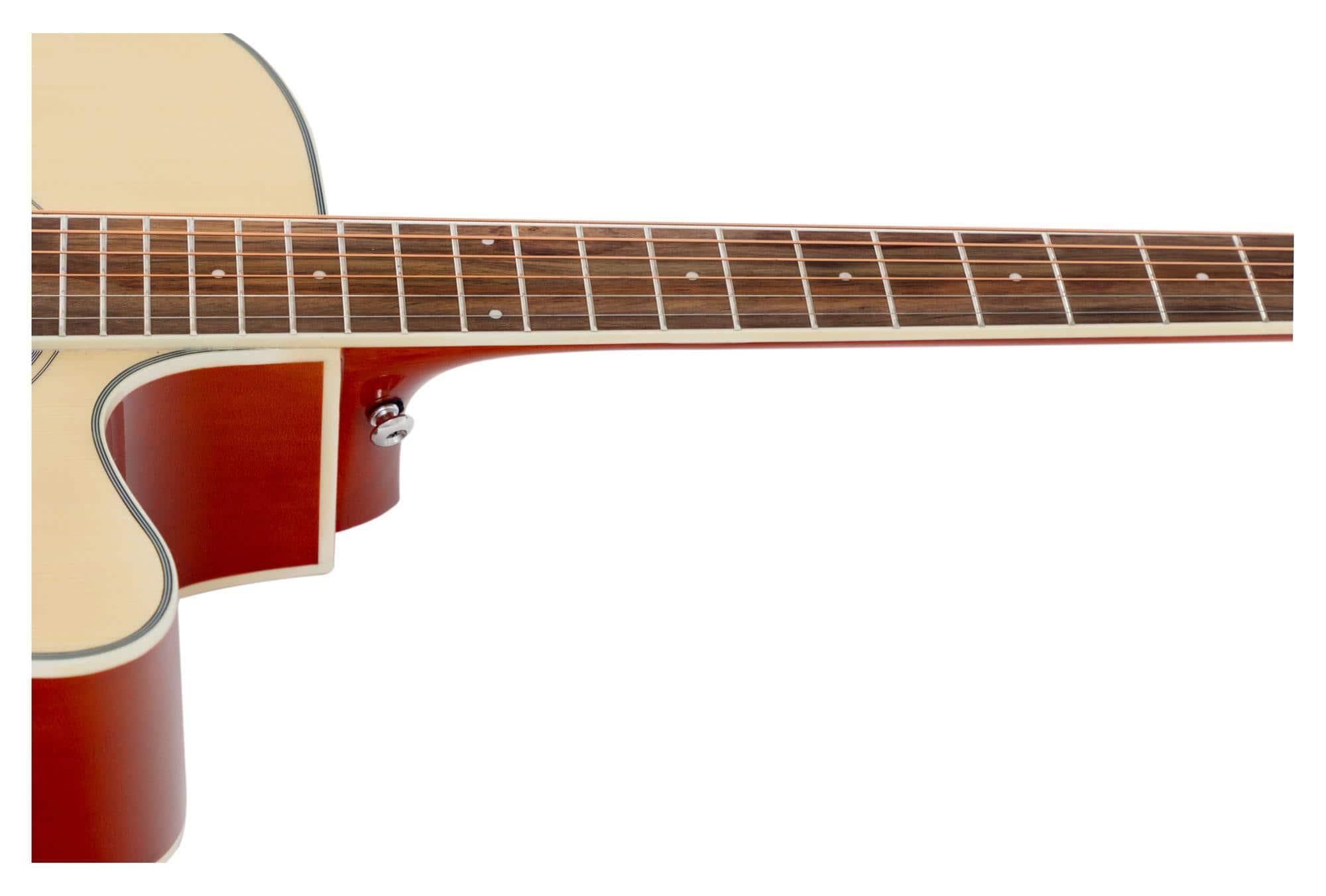 EQ und druckvollem Klang Edel verarbeitete Westerngitarre mit PreAmp