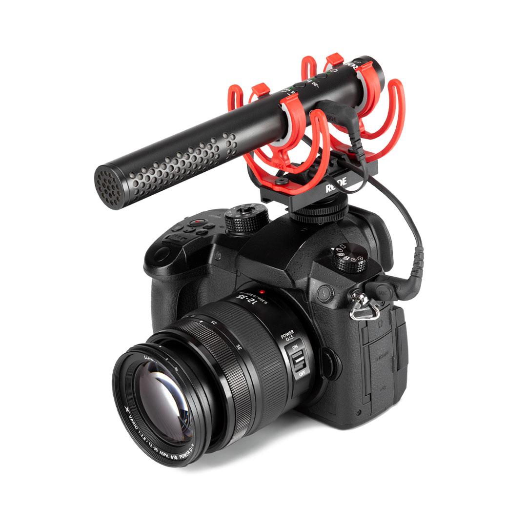 Kamerahalterung Rode VideoMic NTG Kondensator-Richtmikrofon Kamera Superniere
