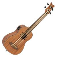 Ortega LIZZY-BSFL-GB Fretless Ukulele Bass